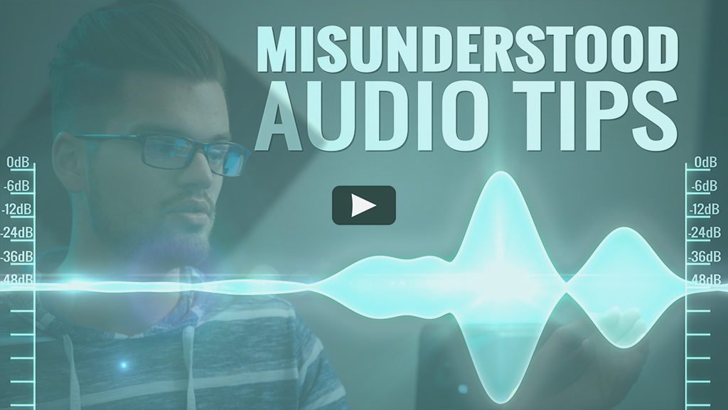 tips for filmmakers to fix audio and edit audio professionally